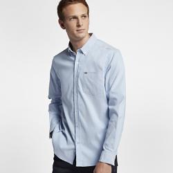 Мужская футболка с длинным рукавом Hurley Dri-FIT One And OnlyМужская футболка с длинным рукавом Hurley Dri-FIT One And Only выполнена из мягкой влагоотводящей ткани в классическом оксфордском стиле. Слегка эластичный материал обеспечивает свободу движений.<br>