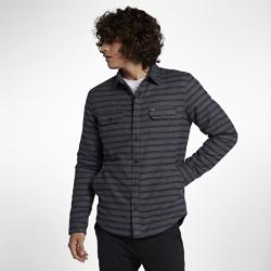 Мужская куртка Hurley Dispatch ShacketМужская куртка Hurley Dispatch Shacket выглядит как фланелевая рубашка, но выполняет функцию куртки, обеспечивая тепло в прохладную погоду. Мягкая подкладка из синтетического меха Sherpa отлично сохраняет тепло, а внешний фланелевый слой с влагонепроницаемым покрытием защищает от влаги.<br>