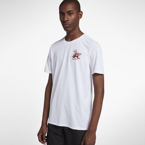 <ナイキ(NIKE)公式ストア>ナイキ Dri-FIT メンズ プリンテッド ランニング Tシャツ AO8539-100 ホワイト