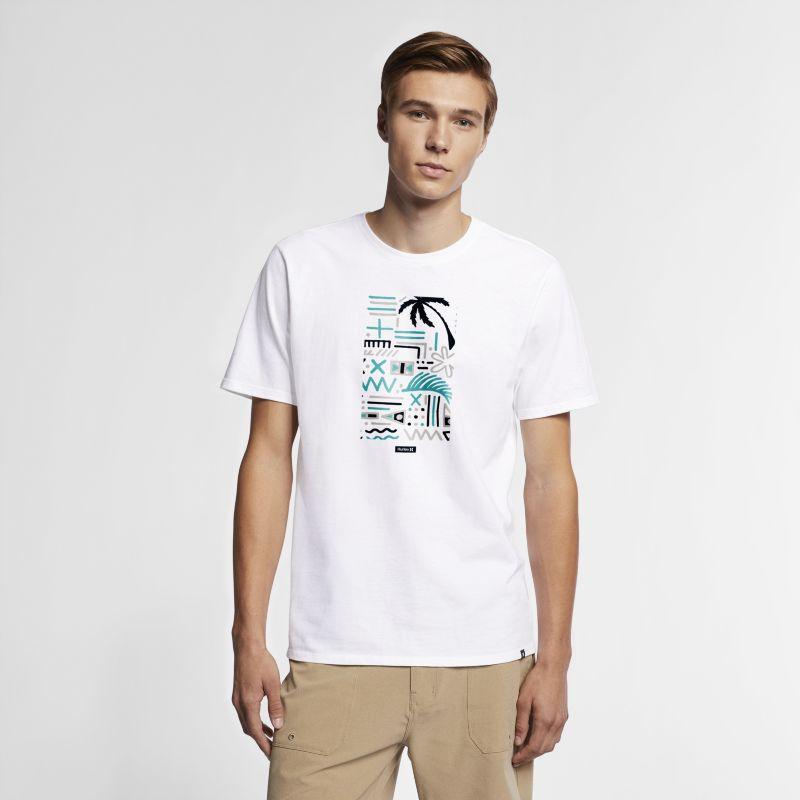 Nike Hurley Core Honu Men's T-Shirt - White Image