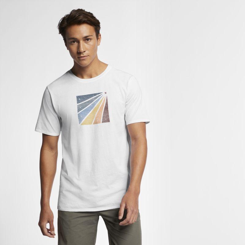 Nike Hurley Enzyme Prism Burst Men's T-Shirt - White Image