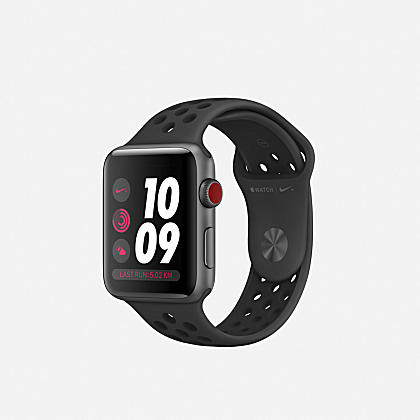 the latest be0d4 52664 Apple Watch Nike+ Series 3 (GPS + Cellular) 42 mm. 2 Farben