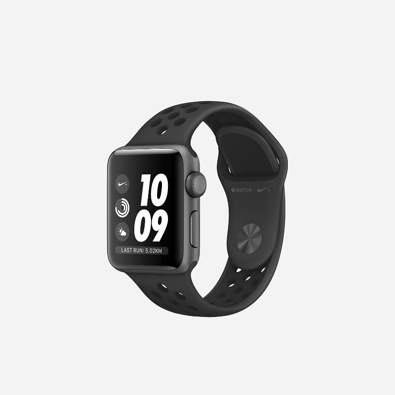 Apple Watch Nike+ GPS Series 3 (38mm) Running Watch