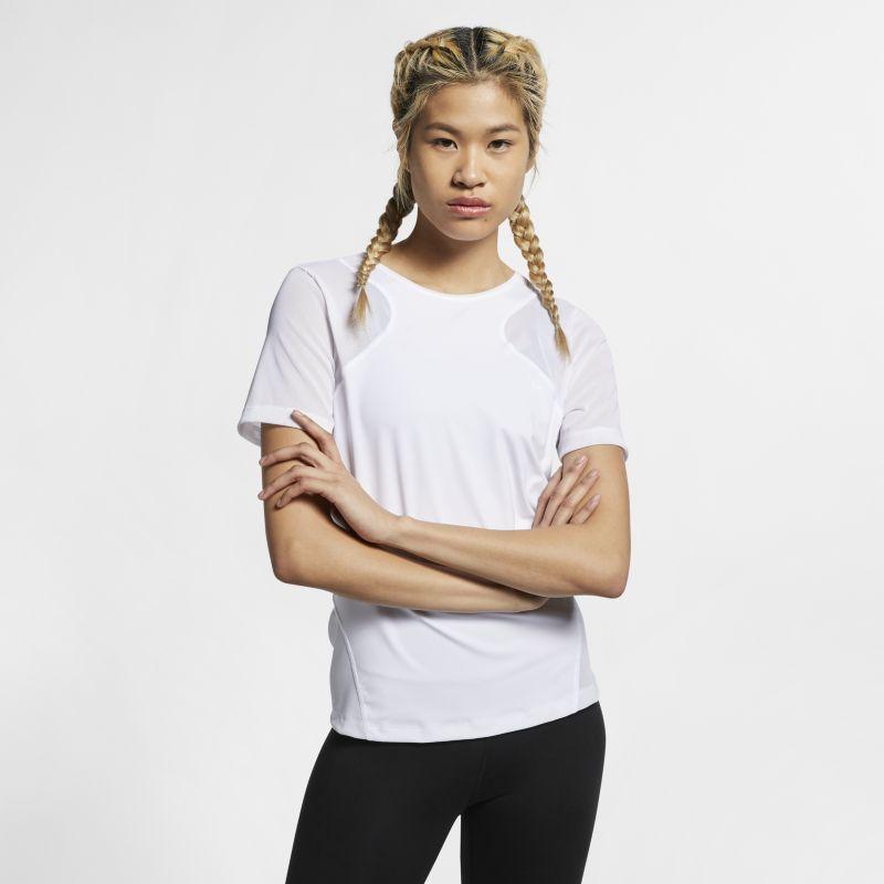 Nike Pro HyperCool Women's Short-Sleeve Top - White