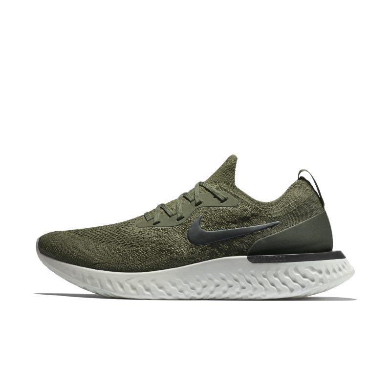 Scarpa da running Nike Epic React Flyknit - Uomo - Khaki