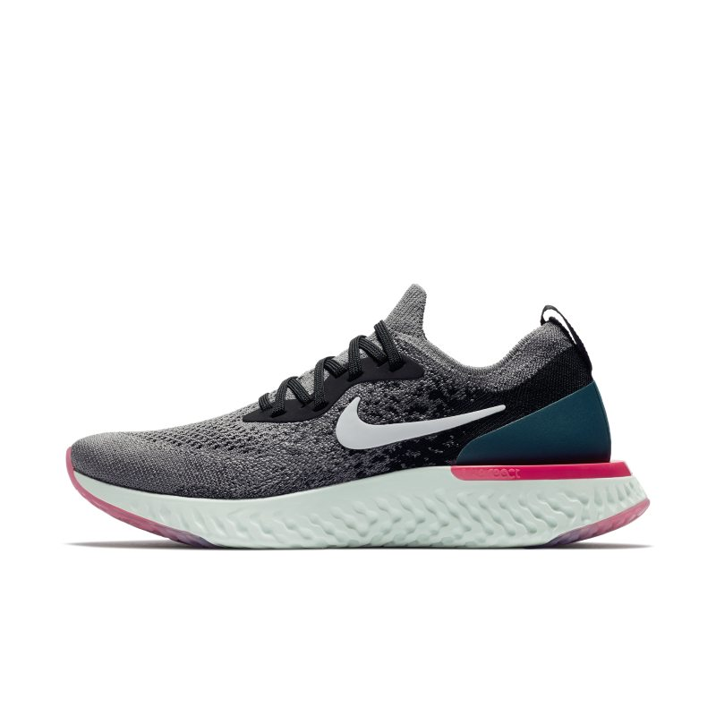 Scarpa da running Nike Epic React Flyknit 1 - Donna - Grigio