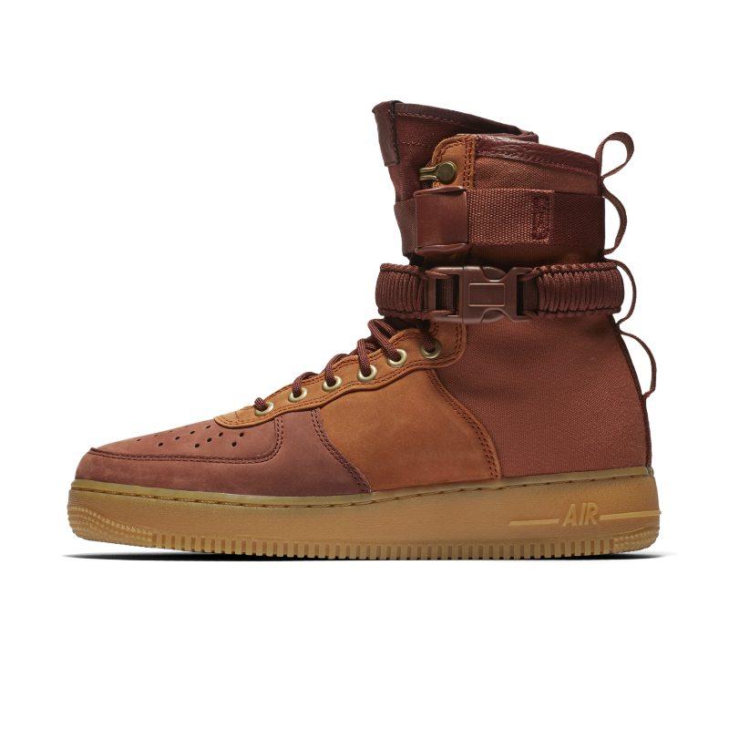 Nike SF Air Force 1 Premium Erkek Ayakkabısı  AQ0118-200 -  Kahverengi 38.5 Numara Ürün Resmi