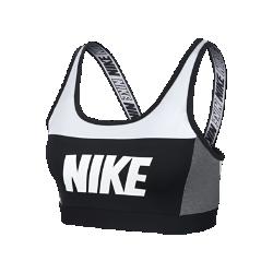 <ナイキ(NIKE)公式ストア>ナイキ クラシック ウィメンズ ミディアムサポート スポーツブラ AQ0143-100 ホワイト画像