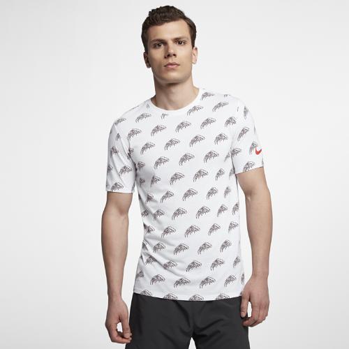 <ナイキ(NIKE)公式ストア>ナイキ Dri-FIT メンズ プリンテッド ランニング Tシャツ AQ0342-100 ホワイト