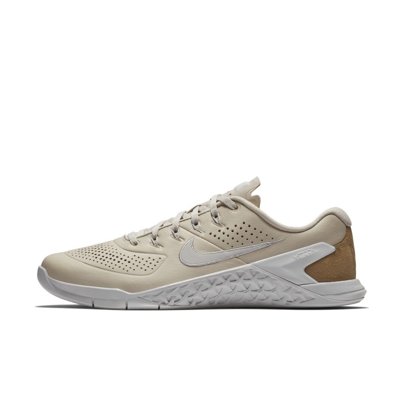 Nike Metcon 4 AMP Leather Zapatillas de cross-training y levantamiento de pesas - Hombre - Crema