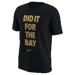 """Мужская футболка Nike 2017 """"Did It For The Bay"""" CelebrationМужская футболка Nike 2017 """"Did It For The Bay"""" Celebration из влагоотводящей ткани дополнена графическим принтом в честь чемпионов.<br>"""