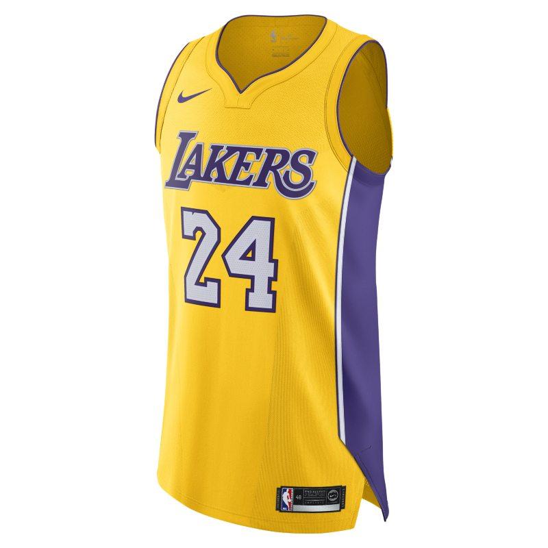 Kobe Bryant Icon Edition Authentic (Los Angeles Lakers) Eşleştirilmiş Nike NBA Erkek Forması  AQ2107-728 -  Sarı 44 Numara Ürün Resmi