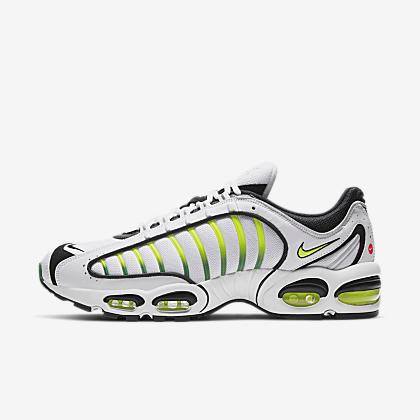 Mens Shoe Nike Air Max Plus Black, White, Platinum TintVolt 852630 037