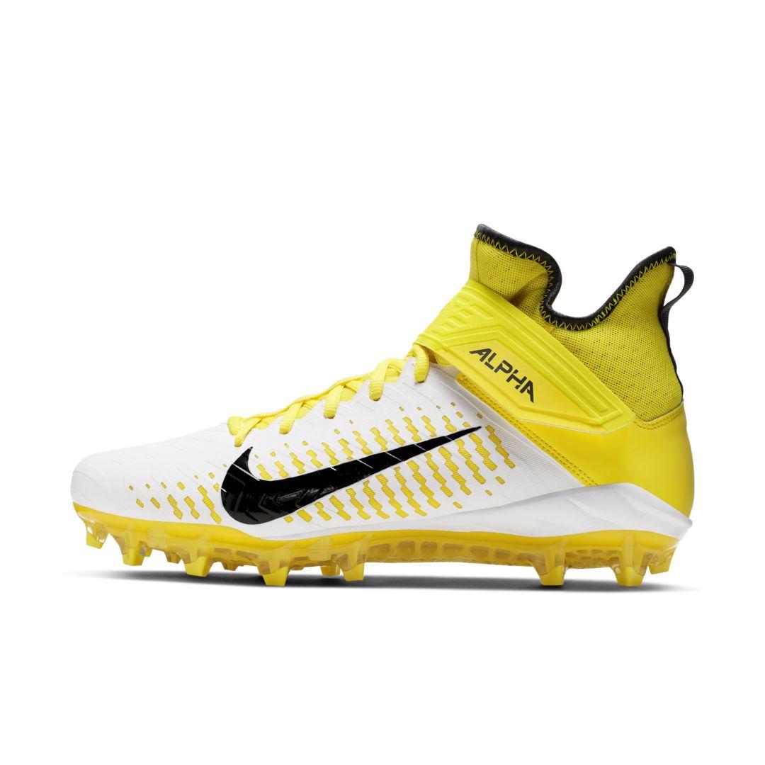 Nike Alpha Menace Pro 2 Mid Men's Football Cleat Size 10.5 ...