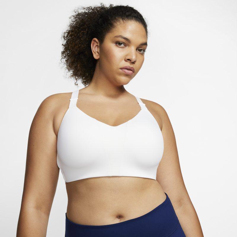 Nike Dri-FIT Rival Sujetador deportivo de sujeción alta con acolchado - Mujer - Blanco