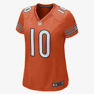 5ebacce8094d1 NFL Chicago Bears Game (Mitch Trubisky). Women's Football Jersey