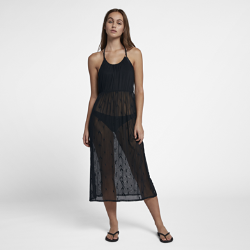 <ナイキ(NIKE)公式ストア>ハーレー エンブロイダード ウィメンズ メッシュ ドレス AQ4463-010 ブラック画像