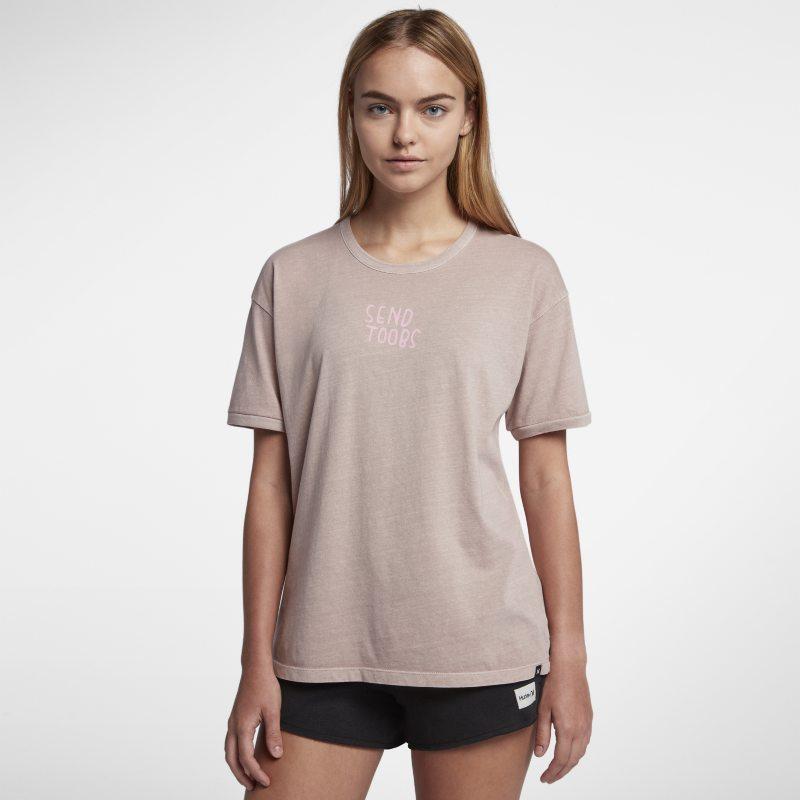 Hurley Send Toobs Wash Ringer Kadın Tişörtü  AQ4536-684 -  Pembe M Beden Ürün Resmi