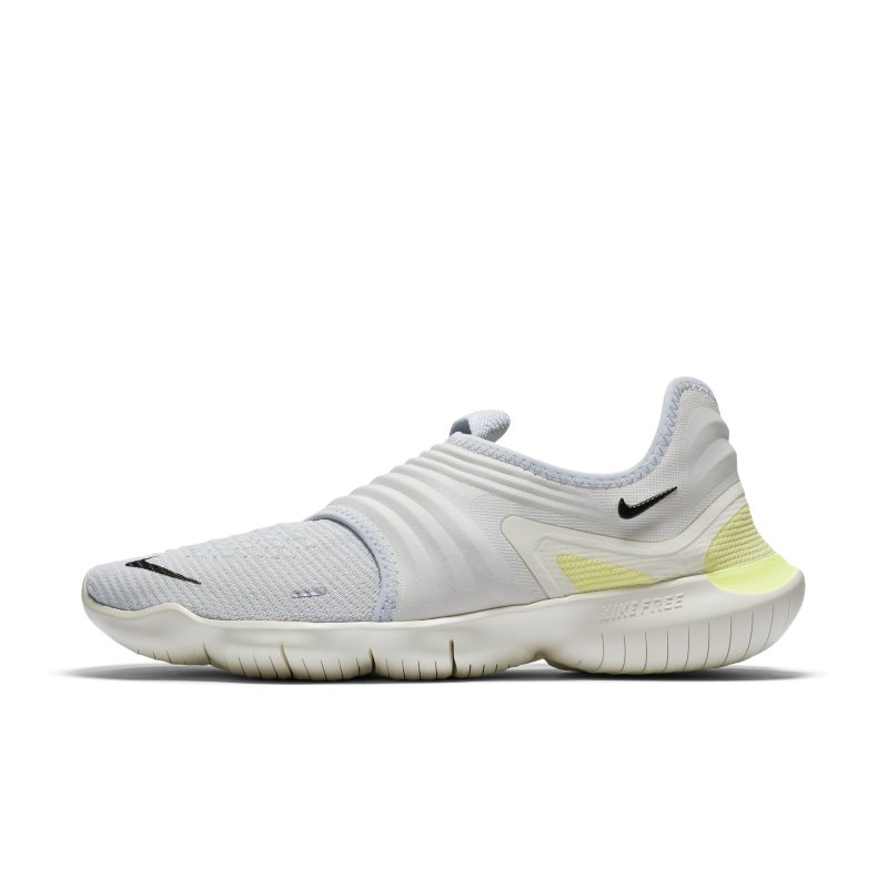 Nike Free RN Flyknit 3.0 Zapatillas de running - Hombre - Plata