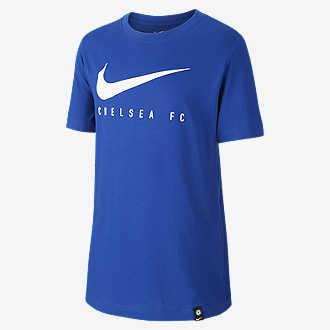 f0fd61e9994c4b Nike Dri-FIT Chelsea FC. Older Kids' Football T-Shirt