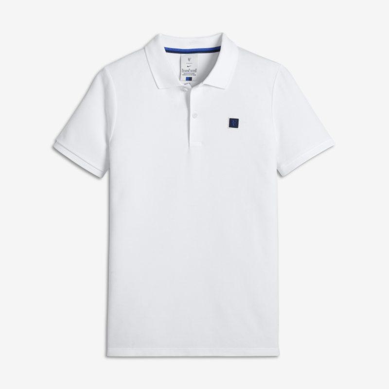 RF ErkekÇocuk Tenis Polo Üst  AQ8080-100 -  Beyaz M Beden Ürün Resmi