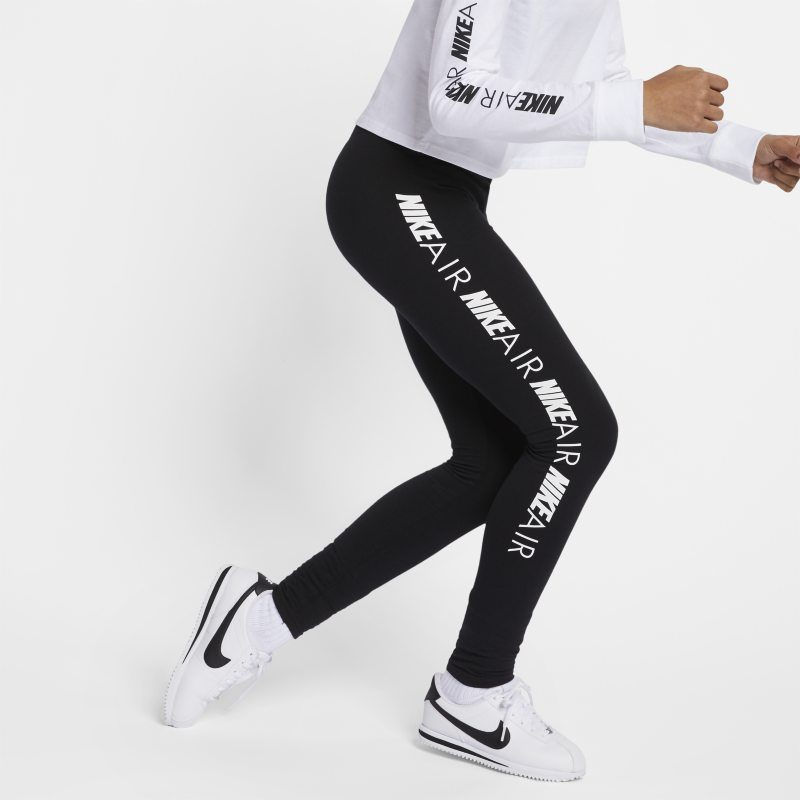 Nike Air Genç Çocuk (Kız) Taytı  AQ8833-010 -  Siyah L Beden Ürün Resmi