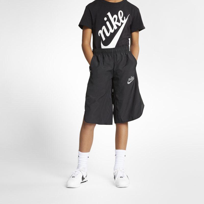 Nike Sportswear Genç Çocuk (Kız) Pantolon Eteği  AQ8849-010 -  Siyah L Beden Ürün Resmi