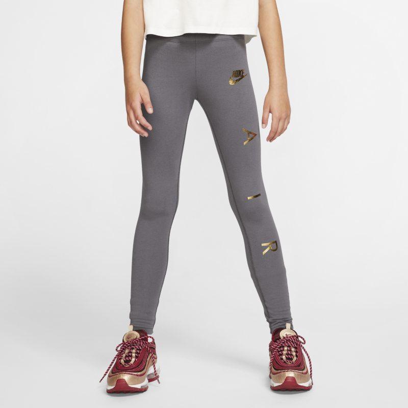 Leggings Nike Air - Bambina/Ragazza - Grigio