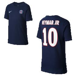 Футболка для мальчиков школьного возраста Paris Saint-Germain Neymar HomeФутболка для мальчиков школьного возраста Paris Saint-Germain Neymar Home из чистого хлопка с фирменными элементами обеспечивает комфорт на весь день.<br>