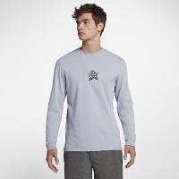 <ナイキ(NIKE)公式ストア>ハーレー フィリペ トレド メンズ ロングスリーブ Tシャツ AR0450-012 グレー画像