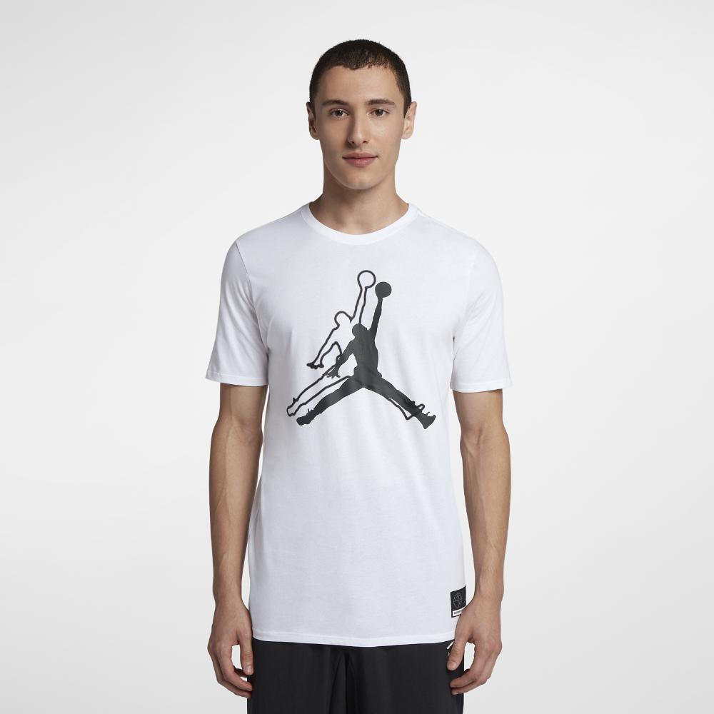 <ナイキ(NIKE)公式ストア> ジョーダン スポーツウェア ジャンプマン 'He Got Game' メンズ Tシャツ AR1284-100 ホワイト ★30日間返品無料 / Nike+メンバー送料無料