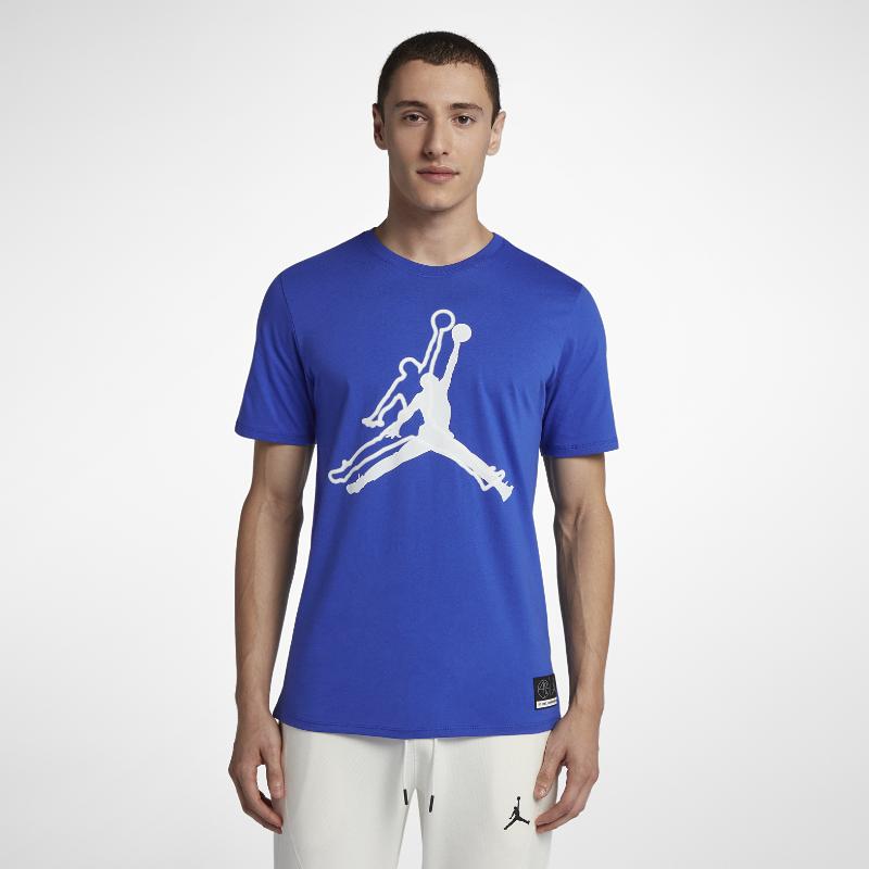 30%OFF!<ナイキ(NIKE)公式ストア>ジョーダン スポーツウェア ジャンプマン 'He Got Game' メンズ Tシャツ AR1284-405 ブルー 30日間返品無料 / Nike+メンバー送料無料