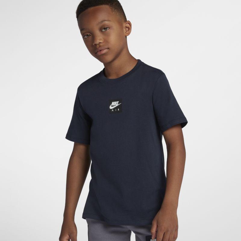 Nike Sportswear Older Kids'(Boys') T-Shirt - Blue Image