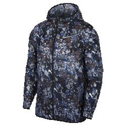 <ナイキ(NIKE)公式ストア>ナイキ ウィンドランナー メンズ プリンテッド ランニングジャケット AR1721-438 ブルー ★30日間返品無料 / Nike+メンバー送料無料!画像