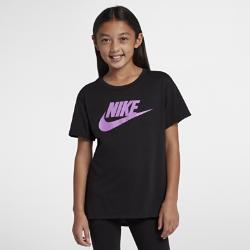 <ナイキ(NIKE)公式ストア>ナイキ スポーツウェア ジュニア (ガールズ) Tシャツ AR1739-011 ブラック