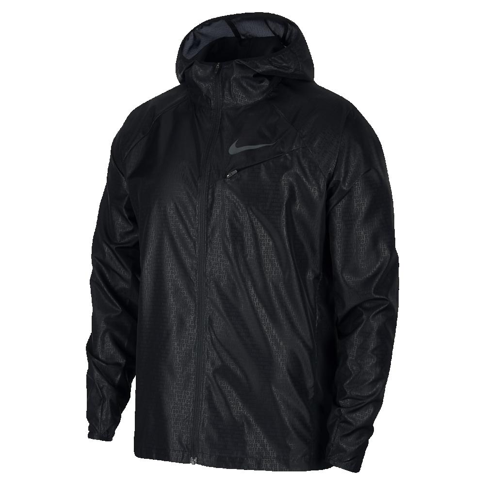 <ナイキ(NIKE)公式ストア> ナイキ メンズ ランニングジャケット AR1919-010 ブラック ★30日間返品無料 / Nike+メンバー送料無料