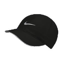 <ナイキ(NIKE)公式ストア>ナイキ フェザーライト ウィメンズ ランニングキャップ AR2028-010 ブラック 30日間返品無料 / Nike+メンバー送料無料