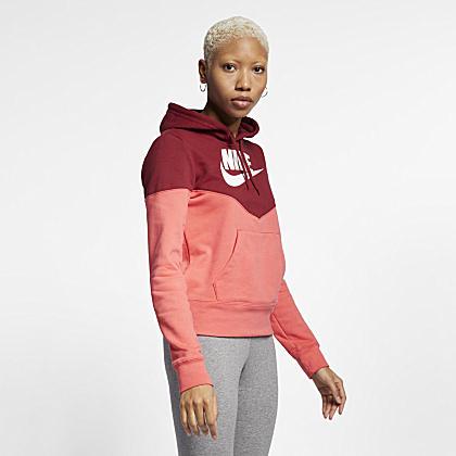 Nike Sportswear Gym Vintage Women s Full-Zip Hoodie. Nike.com 7fb030e96