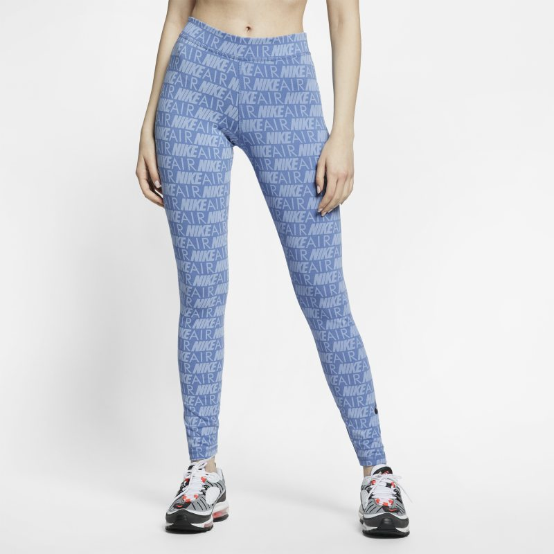 Nike Air Baskılı Kadın Taytı  AR3513-458 -  Mavi L Beden Ürün Resmi