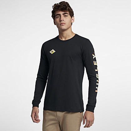 b3ec595d774 Men s Long-Sleeve Top.  36 27.97 · Hurley Dri-FIT Fronds