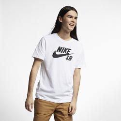 <ナイキ(NIKE)公式ストア>ナイキ SB Dri-FIT メンズ スケート Tシャツ AR4210-100 ホワイト ★30日間返品無料 / Nike+メンバー送料無料!画像