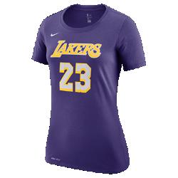 <ナイキ(NIKE)公式ストア>ロサンゼルス レイカーズ ナイキ Dri-FIT ウィメンズ NBA Tシャツ AR4895-550 パープル ★30日間返品無料 / Nike+メンバー送料無料!画像