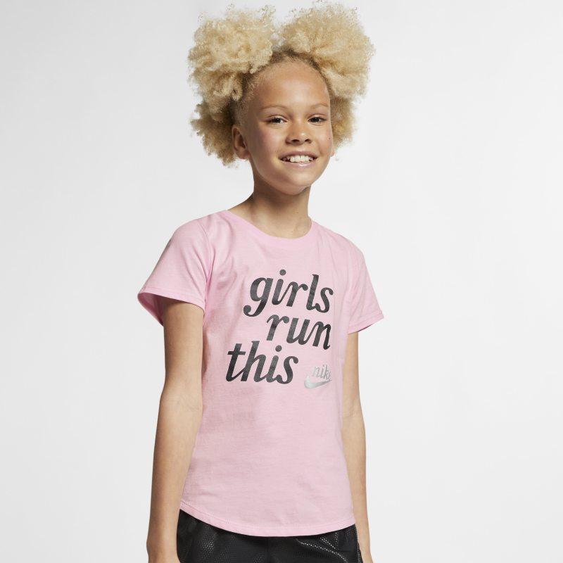 Nike Sportswear Genç Çocuk (Kız) Tişörtü  AR5064-663 -  Pembe XS Beden Ürün Resmi