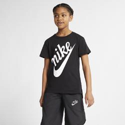 <ナイキ(NIKE)公式ストア>ナイキ スポーツウェア ジュニア (ガールズ) Tシャツ AR5117-010 ブラック