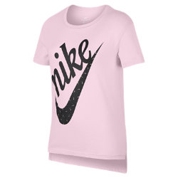 <ナイキ(NIKE)公式ストア>ナイキ スポーツウェア ジュニア (ガールズ) Tシャツ AR5117-663 ピンク
