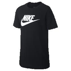 好評2019年夏発売!<ナイキ(NIKE)公式ストア>ナイキ スポーツウェア ジュニア Tシャツ AR5252-010 ブラック画像