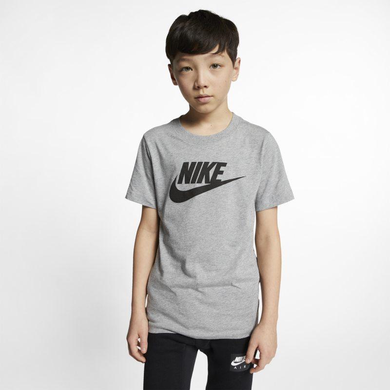 Nike Sportswear Genç Çocuk (Erkek) Tişörtü  AR5252-063 -  Gri S Beden Ürün Resmi