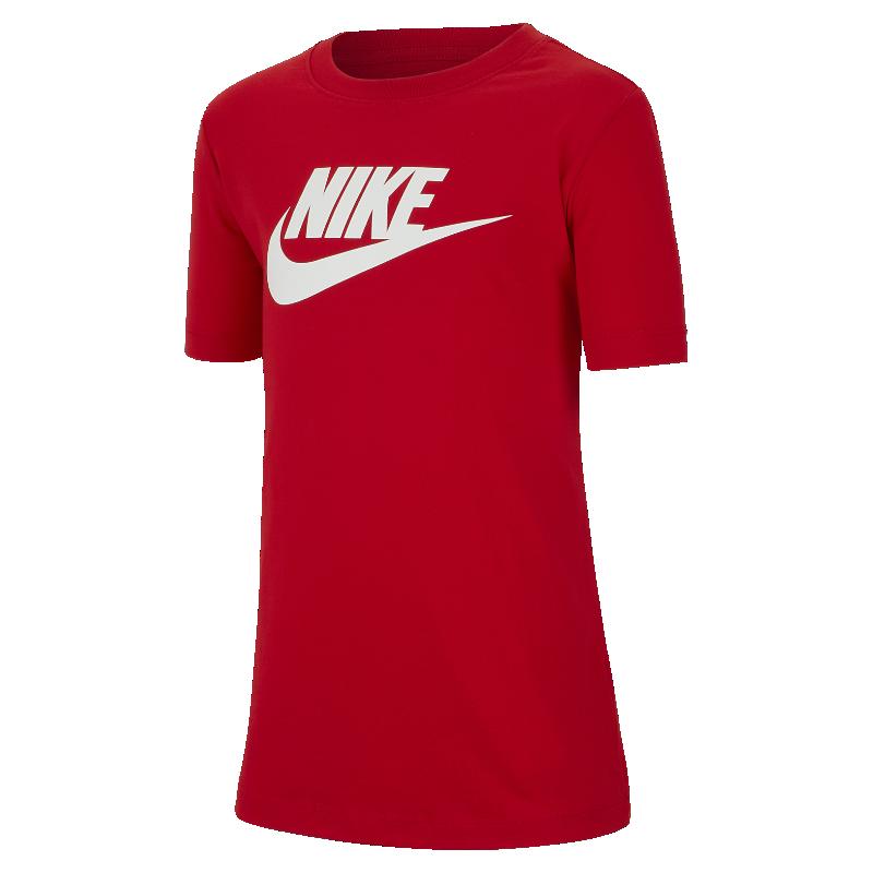 <ナイキ(NIKE)公式ストア>ナイキ スポーツウェア ジュニア (ボーイズ) Tシャツ AR5252-657 レッド