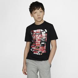<ナイキ(NIKE)公式ストア>ナイキ スポーツウェア ジュニア (ボーイズ) Tシャツ AR5269-010 ブラック