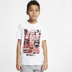<ナイキ(NIKE)公式ストア>ナイキ スポーツウェア ジュニア (ボーイズ) Tシャツ AR5269-100 ホワイト